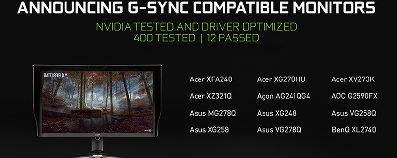 Nvidia Won't Support G-Sync Compatible Displays on Pre-Pascal GPUs