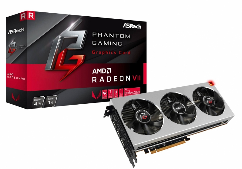 ASRock Radeon VII Phantom Gaming Graphics Card Pictured