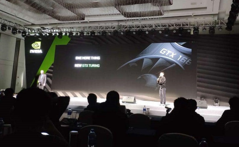 Nvidia Turing GTX 1660 Ti Seemingly Revealed At Chinese Event