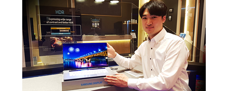 Samsung Reveals 15.6-inch 4K OLED Display for Premium Notebooks