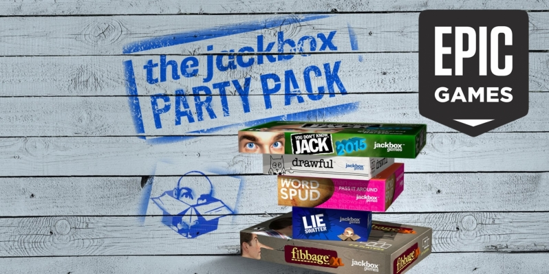 The Jackbox Party Pack is Free on the Epic Games Store