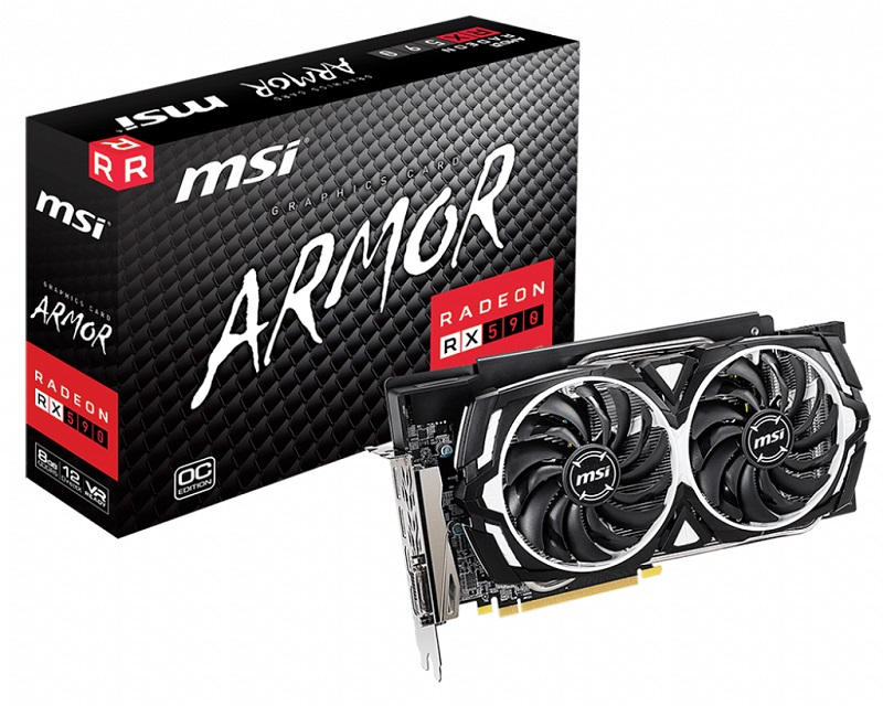 MSI Releases their First RX 590 Graphics Cards