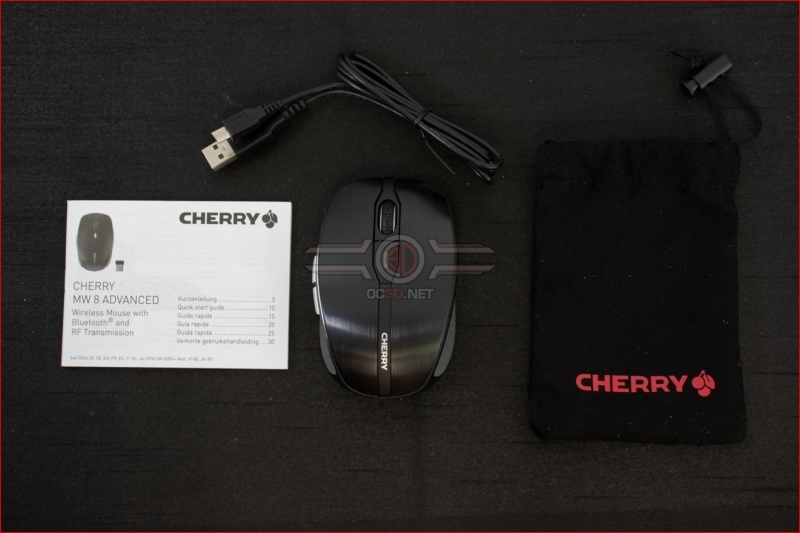 Cherry MW8 Advanced Wireless Mouse Contents