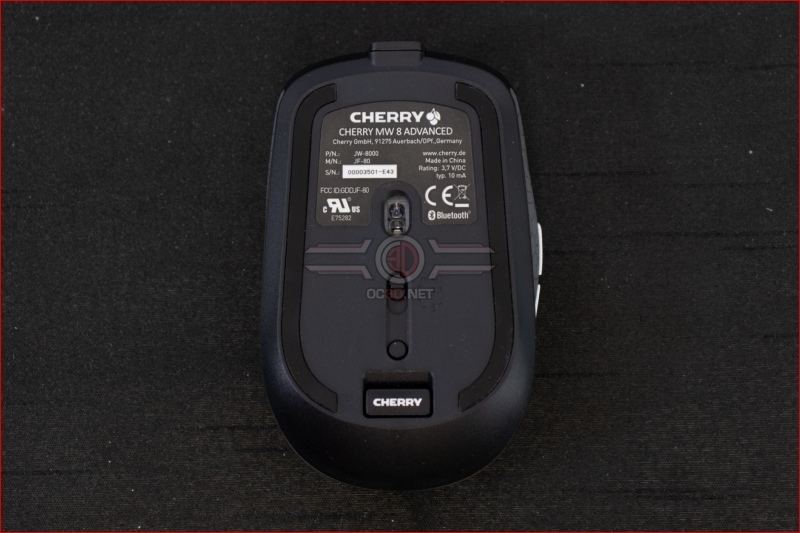 Cherry MW8 Advanced Wireless Mouse Wired