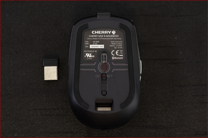 Cherry MW8 Advanced Wireless Mouse dongle