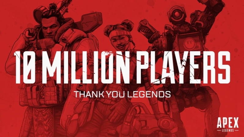 Apex Legends Reaches 1 Million Concurrent Players in 72 Hours