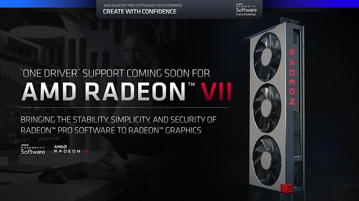 Radeon Pro driver support is coming to the Radeon VII, but there's a catch