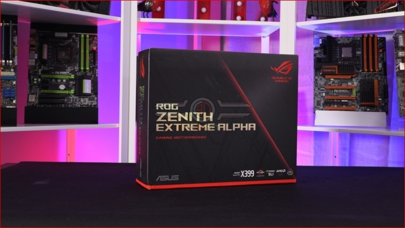 ASUS X399 ROG Zenith Extreme Alpha Preview