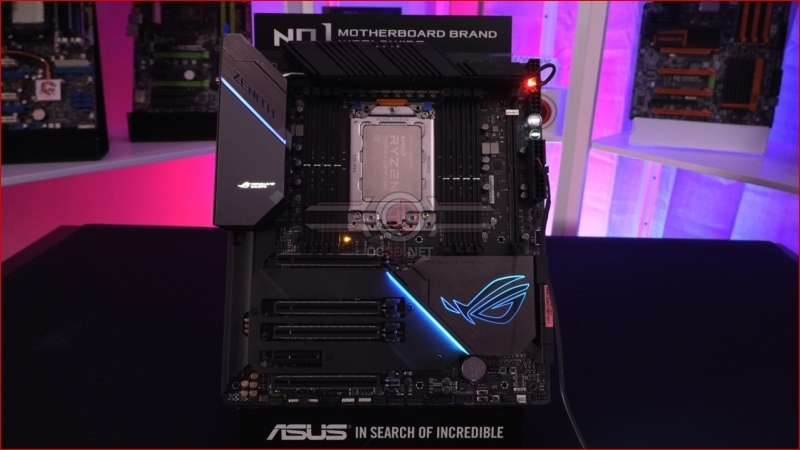 ASUS X399 ROG Zenith Extreme Alpha Lighting