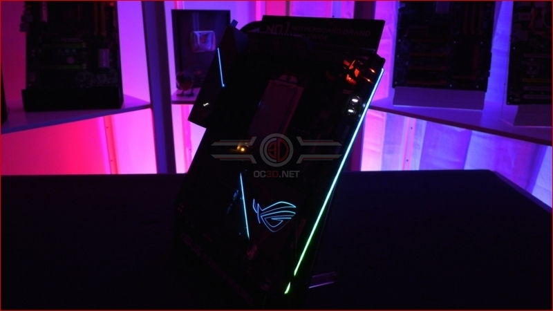 ASUS X399 ROG Zenith Extreme Alpha Edge Lighting