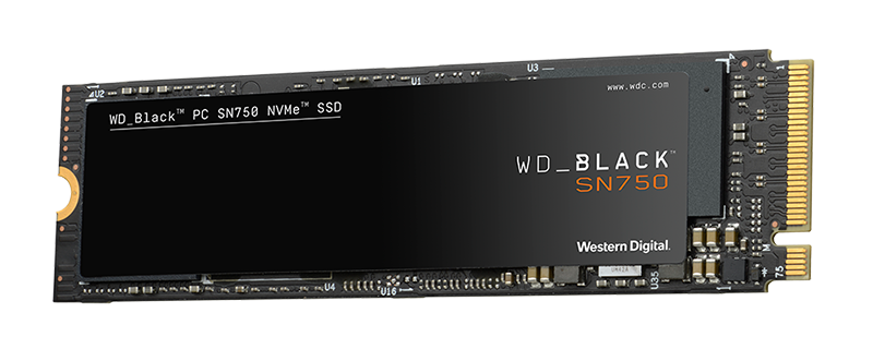 Western Digital Black SN750 1TB NVMe M.2 Review