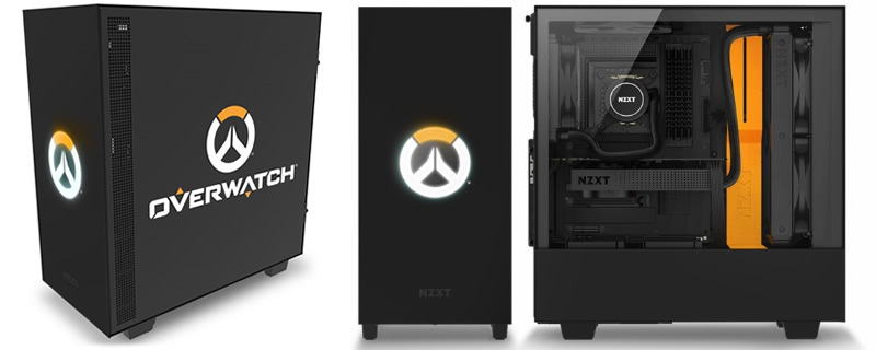 NZXT Launches Special Edition H500 Overwatch Themed Chassis