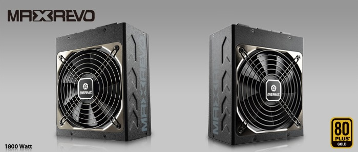 Enermax Latest Maxrevo PSU offers with More Watts than Most Gamers Needs