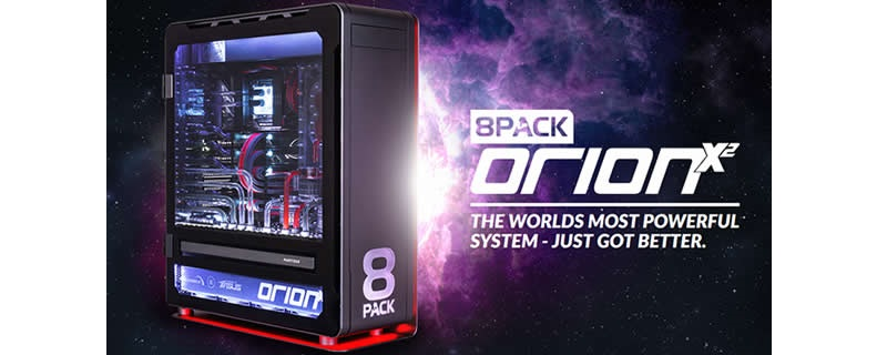 Overclockers UK Launches their £32,999.99 ORIONX2 Extreme System