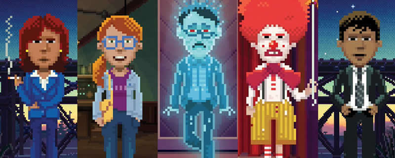Thimbleweek Park is currently free on the Epic Games Store