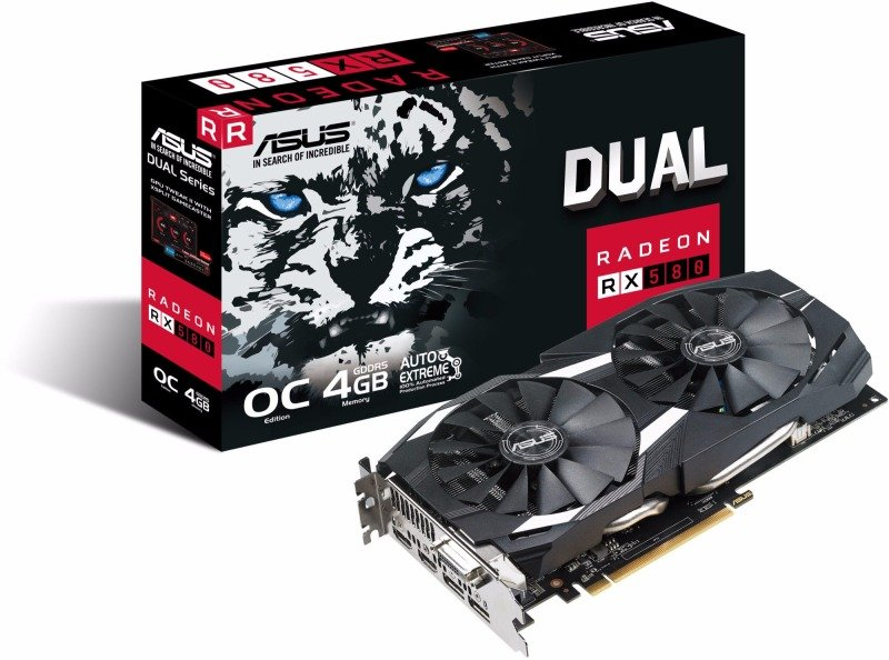 ASUS' Radeon RX 580 Dual is now £150 in the UK