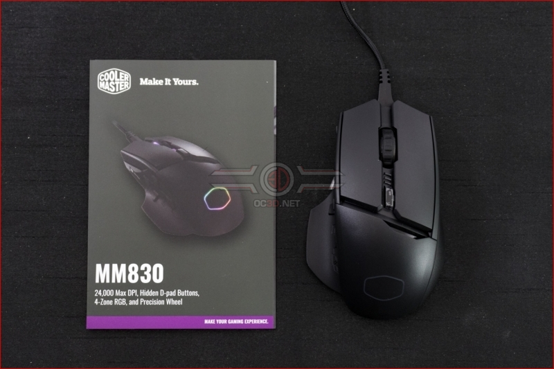 Cooler Master MM830 24000 DPI Mouse Accessories
