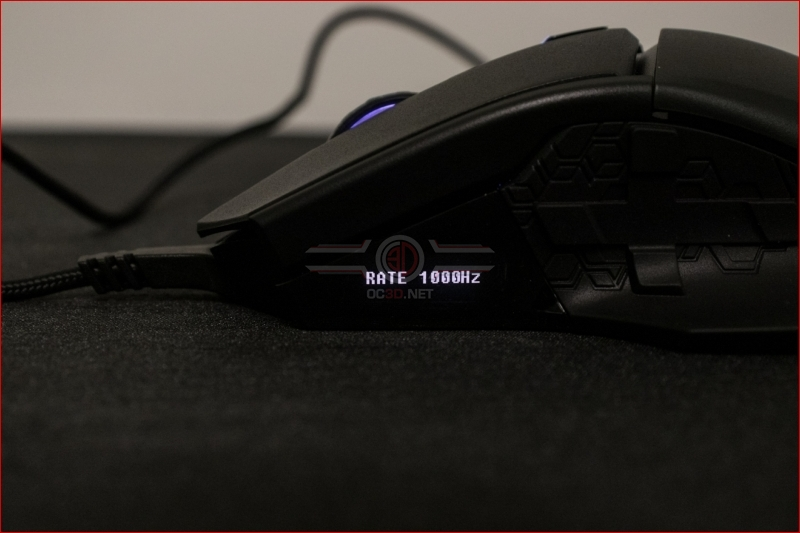 Cooler Master MM830 OLED Polling Rate