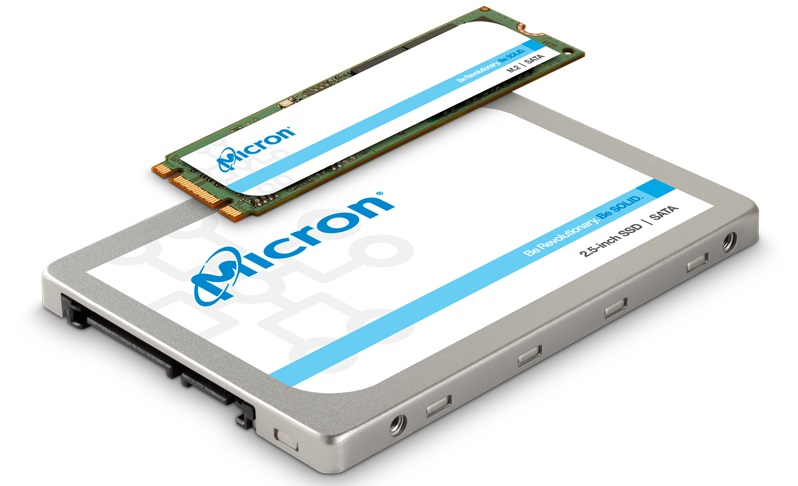 Micron Reveals their Budget-Orieinted 1300 series of SATA SSDs