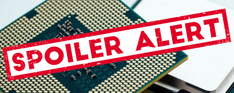 SPOILER Alert - Intel CPUs Impacted by New Vulnerability