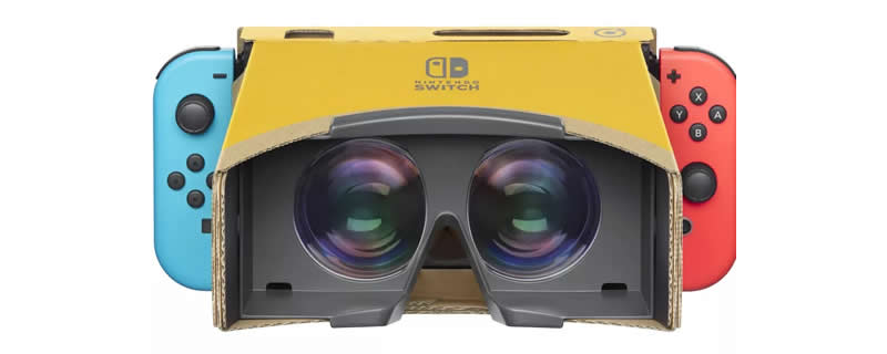 VR on Nintendo Switch? Labo Returns with a VR upgrade