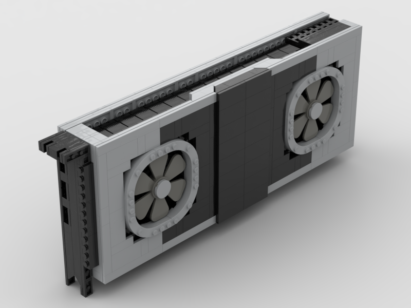 Need a Cheap RTX 2080 Ti Founders Edition? Here's a Lego Version
