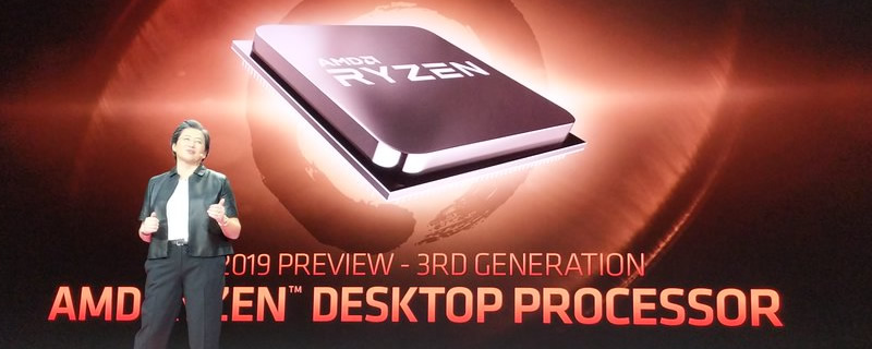 New AMD Ryzen 3rd Generation Rumours - AMD's CES Demo was Power-Limited
