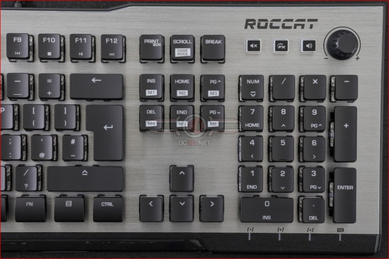 Roccat Vulcan 120 AIMO Gaming Keyboard Dial
