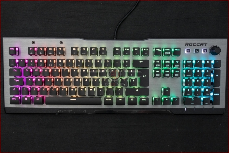 Roccat Vulcan 120 AIMO Gaming Keyboard Rainbow