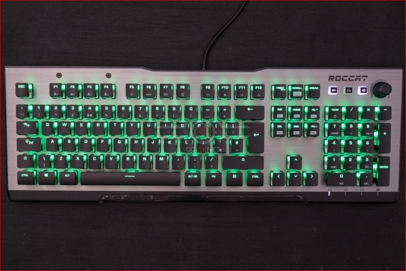 Roccat Vulcan 120 AIMO Gaming Keyboard Green
