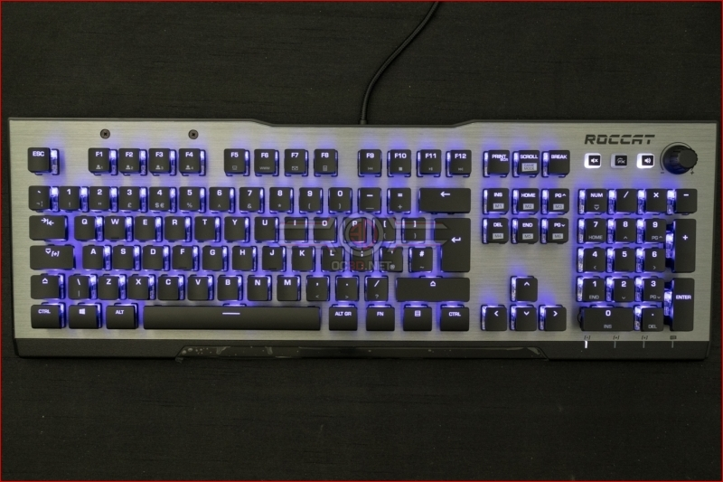 Roccat Vulcan 120 AIMO Gaming Keyboard Blue