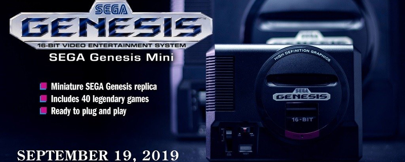 SEGA to release Mega Drive/Genesis Mini Consoles this year