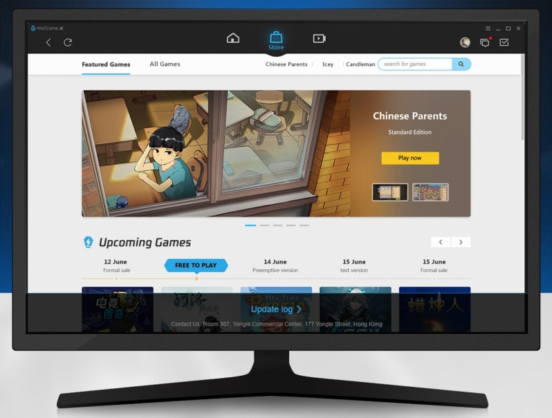 Tencent's Rebranded WeGame X Gaming Platform Launches Worldwide