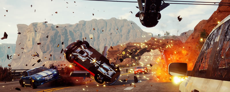Dangerous Driving, the Spiritual Successor to Burnout, is now available to order on PC