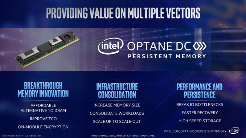 Intel plans to make 3rd Gen Optane DDR5 Compatible - Optane DC is here it stay