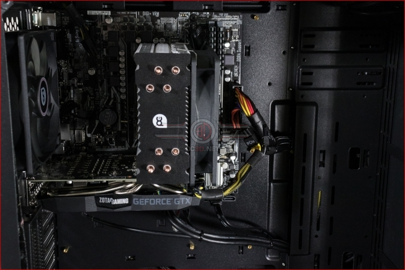 PC Specialist Apollo T1 System Cooler