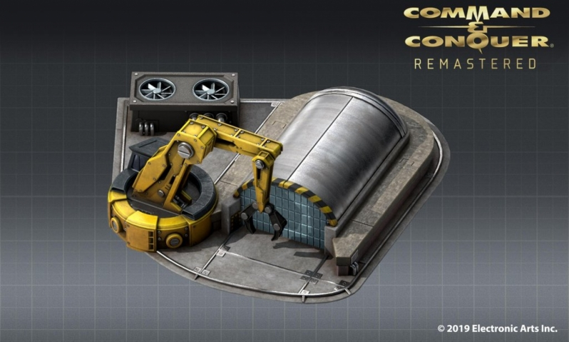 EA's Command & Conquer Remastered has left Pre-Production - Reveals New Construction Yard Asset