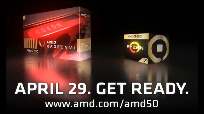 AMD Plans to Release AMD 50 Edition Ryzen 7 and Radeon VII Components