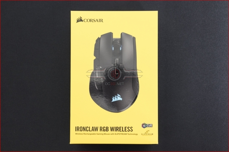 Corsair Ironclaw RGB Wireless MOBA Mouse Box