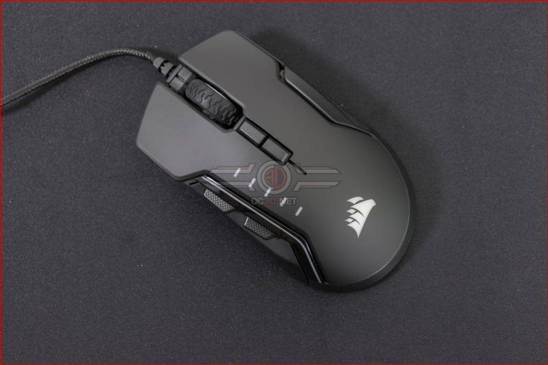 Corsair Glaive RGB Pro Mouse Side options