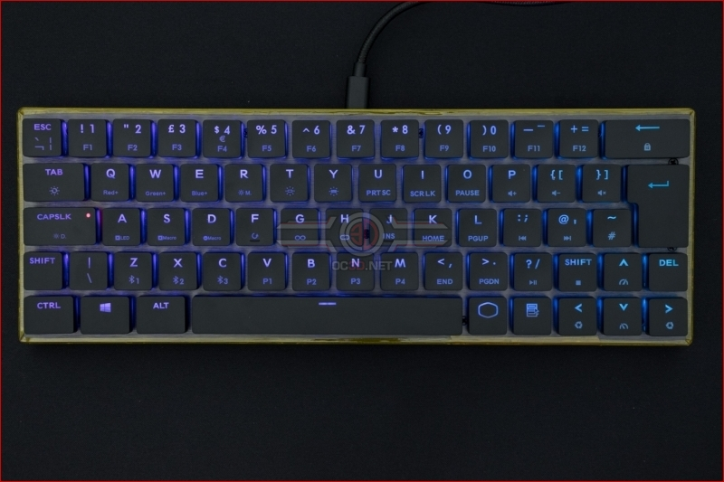 Cooler Master SK621 Wireless Keyboard Purple
