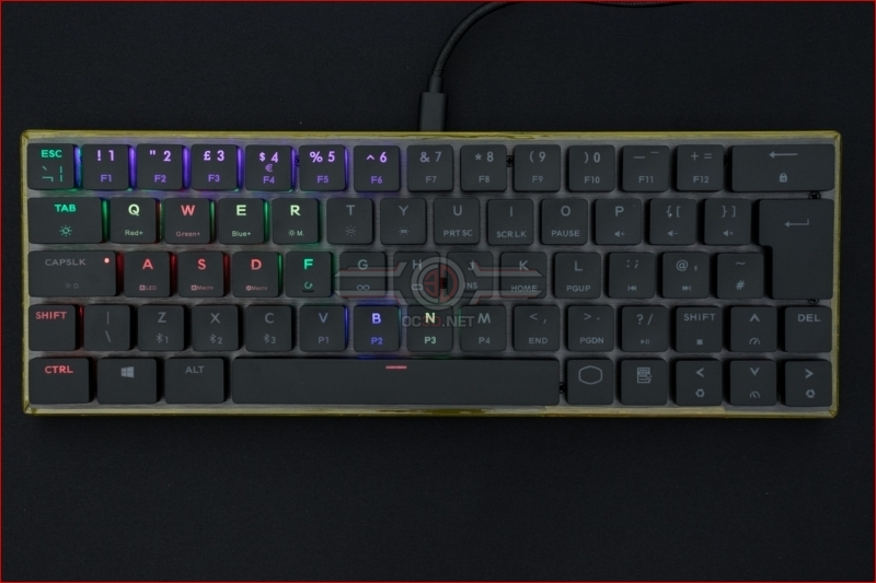 Cooler Master SK621 Wireless Keyboard WASD Cluster