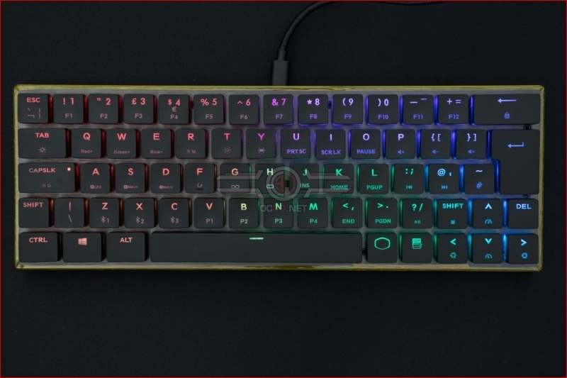 Cooler Master SK621 Wireless Keyboard Rainbow