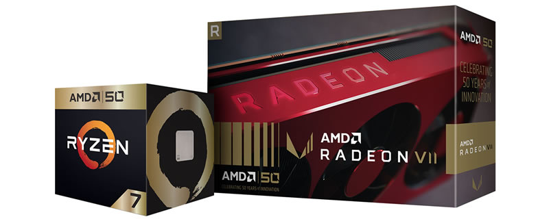 AMD launches Ryzen/Radeon gamin bundle to celebrate 50th Anniversary