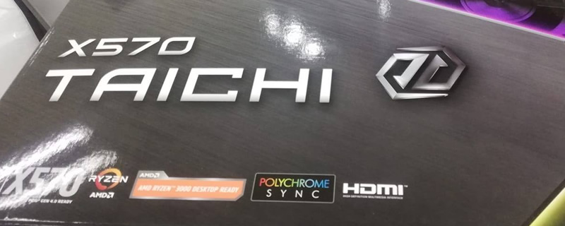ASRock's X570 Taichi Motherboard Pictured - PCIe 4.0 confirmed