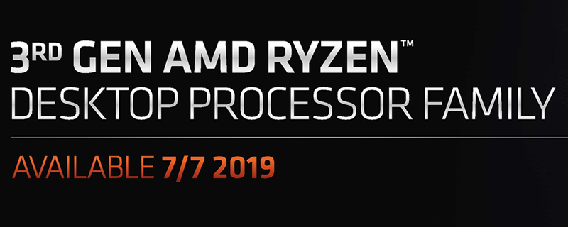 AMD Reveals the Full Specifications of their Ryzen 3rd Generation Lineup