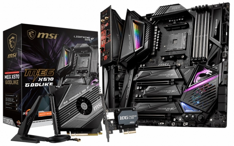 MSI Unveils their MEG X570 GODLIKE motherboard with 14+4+1 phase VRM