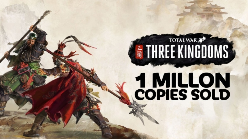 Total War Three Kingdoms sells over 1 million copies in a week