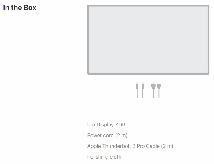 Apple goes full-Apple by selling $4,999+ Pro Display XDR monitor without a stand
