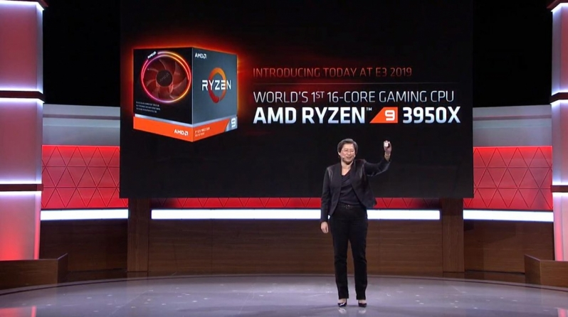 AMD officially reveals their 16-core Ryzen 9 3950X processor